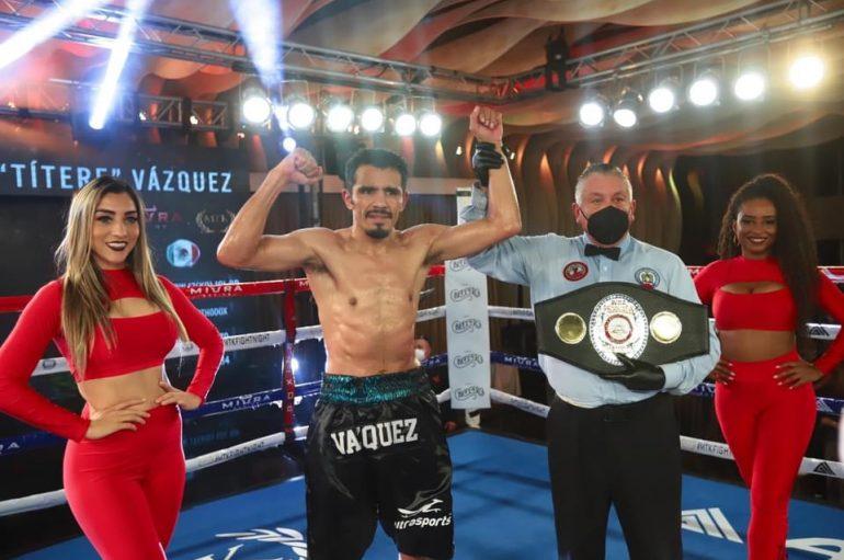 "MIGUEL ""TITERE"" VÁZQUEZ CONQUISTÓ EL CINTURÓN FEDELATIN WBA"